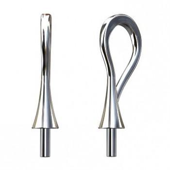 Šlupna Trumpet 65M001Ag 16x6.5mm, Ag925, 0.34g pro Swarovski 6530, 6540