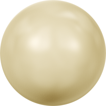 5810 MM  3 CRYSTAL LIGHT GOLD PEARL