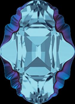 4926 MM 14x10 AQUAMARINE METALLIC BLUE Z F