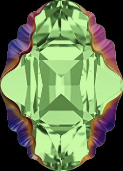 4926 MM 14x10 PERIDOT SCARABAEUS GREEN Z F
