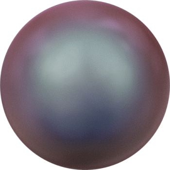 5818 MM 8 CRYSTAL IRIDESCENT RED PEARL