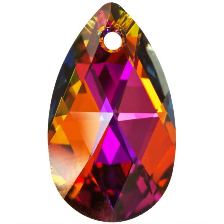 7283df8b8e5ce PEAR 6106 MM 16 CRYSTAL VOLCANO - Pendants Swarovski Crystals