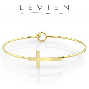 Bracelet CROSS Stainless Steel Gold