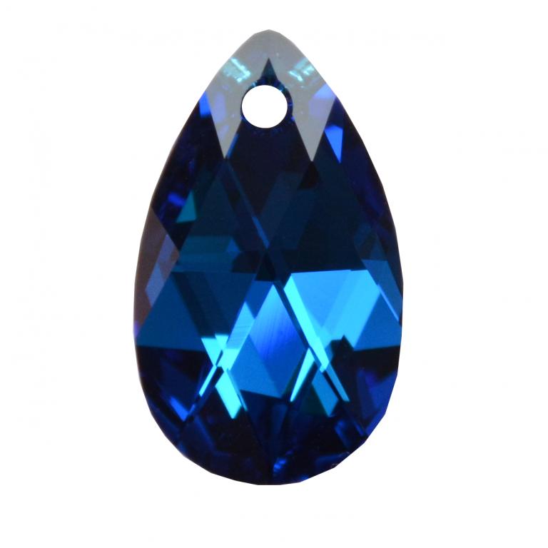 29d6462e1cba4 PEAR 6106 MM 22 CAPRI BLUE CAL - Pendants Swarovski Crystals