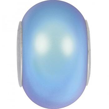 5890 MM 14 CRYSTAL IRIDESCENT LIGHT BLUE PEARL STEEL