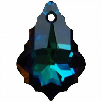 6090 MM 22x15 CRYSTAL MERIDIAN BLUE