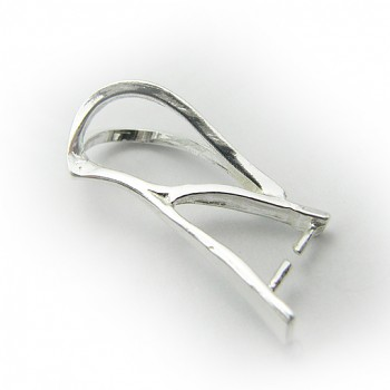 Bail SL027 7x18mm Silver Plated