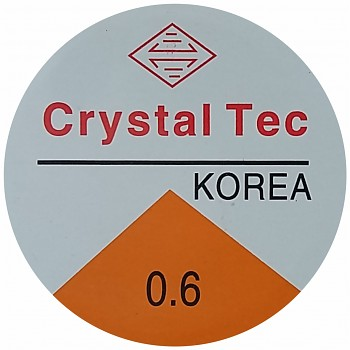 Elastic CRYSTAL TEC 0.6mm / 10m - clear
