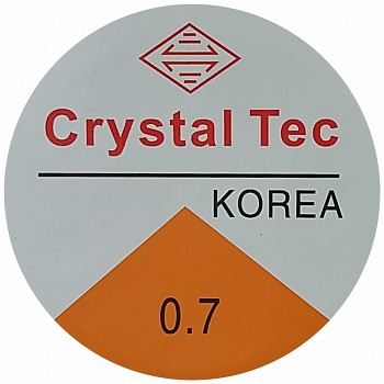 Elastic CRYSTAL TEC 0.7mm / 8m - clear