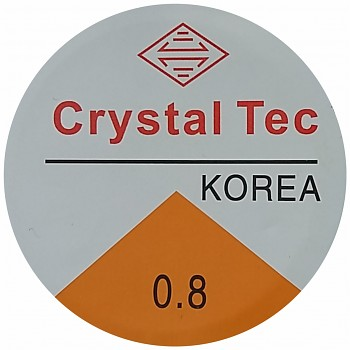 Elastic CRYSTAL TEC 0.8mm / 6m - clear