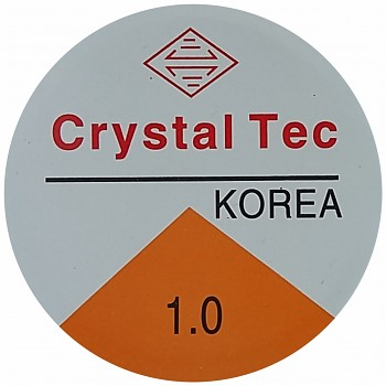 Elastic CRYSTAL TEC 1.0mm / 4m - clear