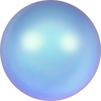 5810 MM  6 CRYSTAL IRIDESCENT LIGHT BLUE PEARL