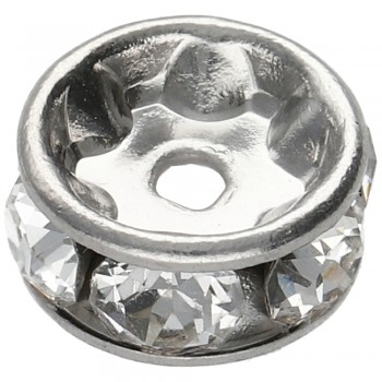 Rondelka 5mm CRYSTAL 6xPP16 Rhodium