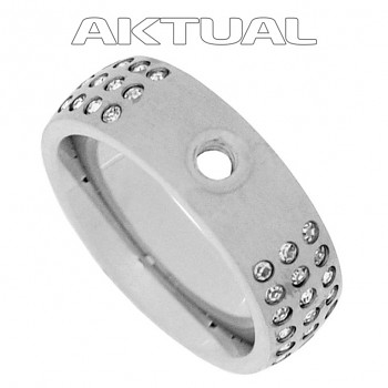 CHANGE & GO ! Ring STRASS Stainless Steel