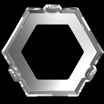 Kotlík KALEIDOSCOPE HEXAGON 4699/S MM 14X16 3PH2OH Rhodium našívací