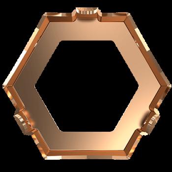Kotlík KALEIDOSCOPE HEXAGON 4699/S MM 14X16 3PH2OZ Surový našívací