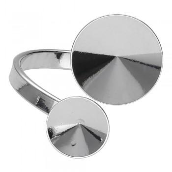 Prsten RIVOLI  8-12mm Platina