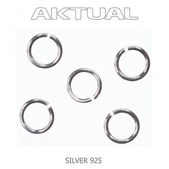 Spojovací kroužek Ag925 3.1mm/průměr drátu 0.8mm, 0.04g