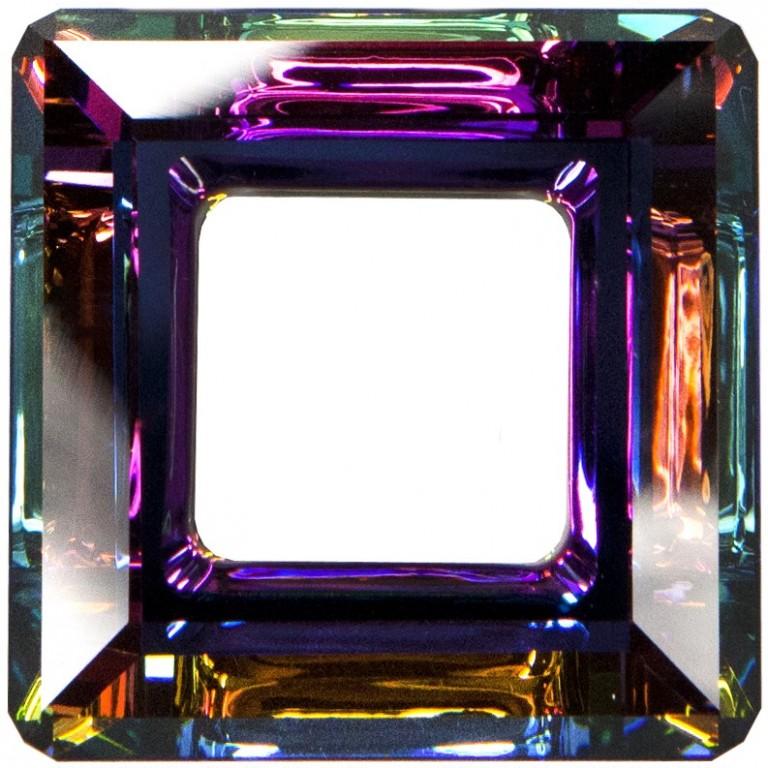 c814d61a9 SQUARE Ring 4439 MM 30, 30mm, CRYSTAL VM - Fancy Swarovski Crystals