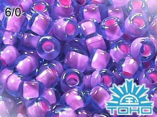 TOHO Inside-Color Aqua/Bubble Gum Pink L