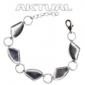 Bracelet GALACTIC 5x19mm Rhodium