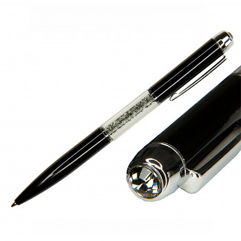 Kuličkové pero PEN BLACK BLACK DIAMOND SWAROVSKI ELEMENTS