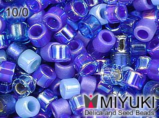 MIYUKI DELICA 10/0 Mix blue