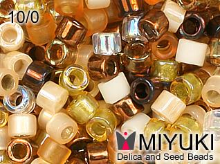MIYUKI DELICA 10/0 Mix honey