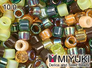 MIYUKI DELICA 10/0 Mix earthtone