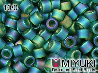 MIYUKI DELICA 10/0 Matte emerald AB