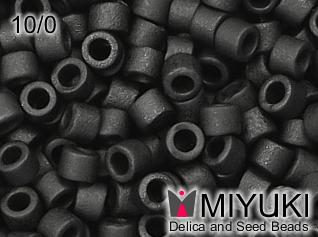 MIYUKI DELICA 10/0 Matte black