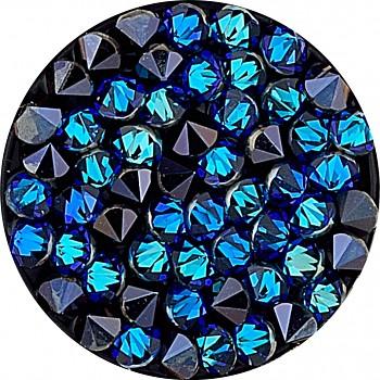 crystal ROCKS 15 CRYSTAL BERMUDA BLUE
