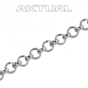 Chain M/ROLO 3mm Stainless STEEL