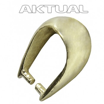 Bail SL005AgAu Ag925 4.5x9.5, 0.42g Gold Plated