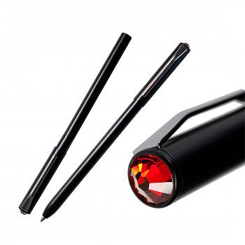 Kuličkové pero PEN s magnetickým uzávěrem BLACK LIGHT SIAM SWAROVSKI ELEMENTS