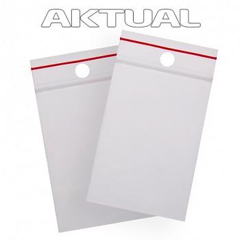 Bag Zip-Lock LDPE  80x120 mm - 100pc/pack