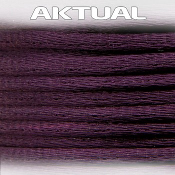 Cord 100% VISCOSE 2mm AMETHYST