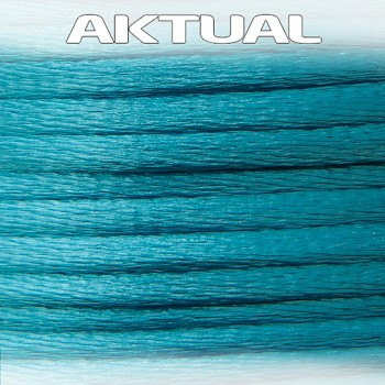 Cord 100% VISCOSE 2mm AQUAMARINE