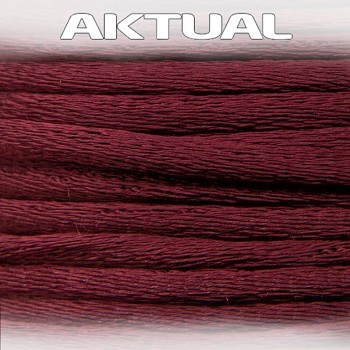 Cord 100% VISCOSE 2mm BURGUNDY