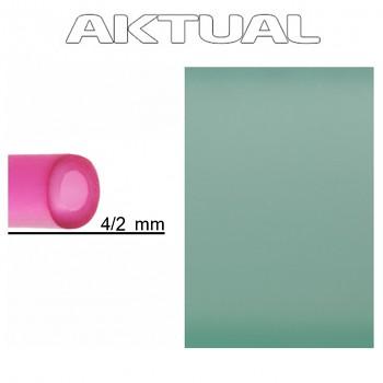 Dutinka RUBBER 4/2mm CHRYSOLITE