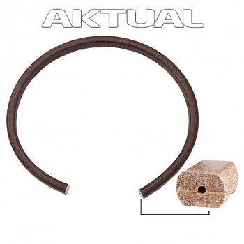 LEATHER Belt 10x7mm Brown