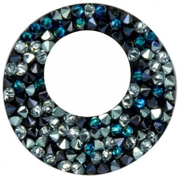 crystal ROCKS 25 VICTORY BERMUDA BLUE PEPPER