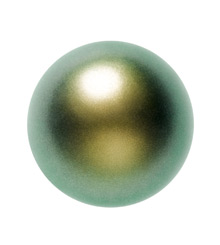 5810 MM  8 CRYSTAL IRIDESCENT GREEN PEAR