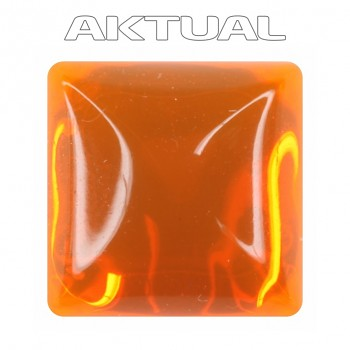 Kabošon GLANC 12x12mm UV ORANGE
