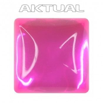 Kabošon GLANC 12x12mm UV ROSE