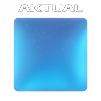 Kabošon Velvet 12x12mm CAPRI BLUE
