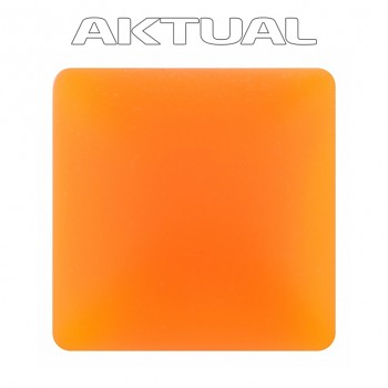 Kabošon Velvet 12x12mm UV ORANGE