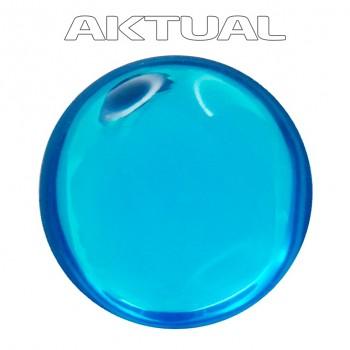 Kabošon GLANC 12mm BLUE ZIRCON