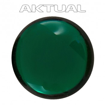 Kabošon GLANC 12mm EMERALD