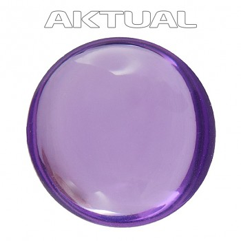 Kabošon GLANC 12mm LIGHT AMETHYST